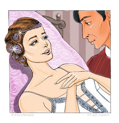 ilustración de joyas para cabeza y pelo