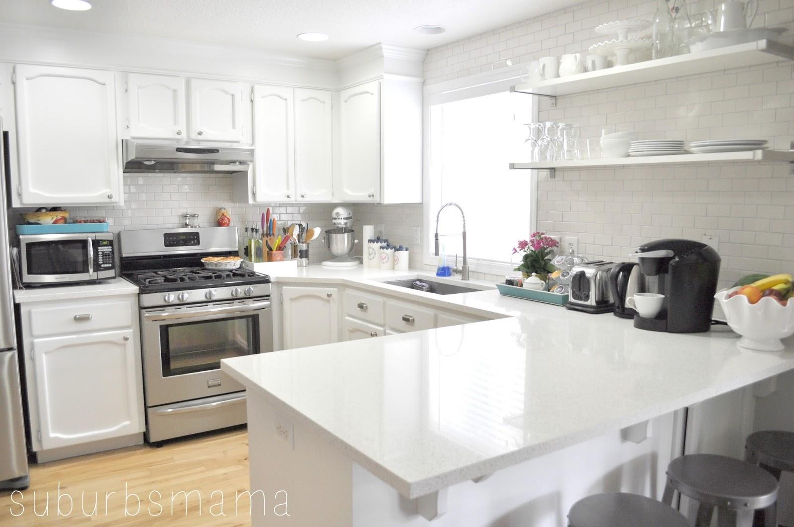 Suburbs Mama: My Kitchen - New Counters!