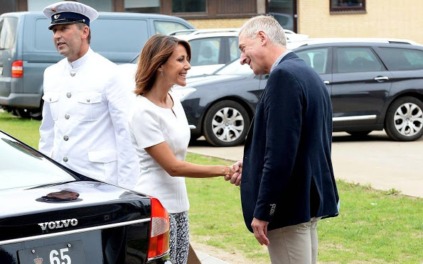 Princess Marie Attended The Opening Of New Campus In Tønder
