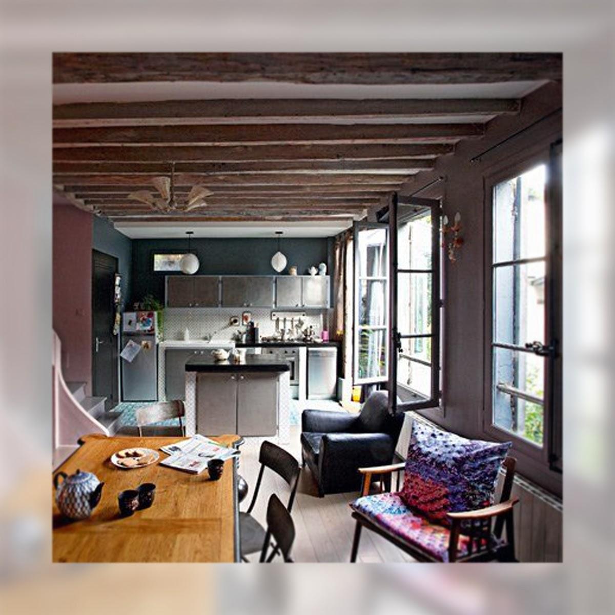 Una casa de aires Boho Chic, La Musa Decoración, Comedor, Living room