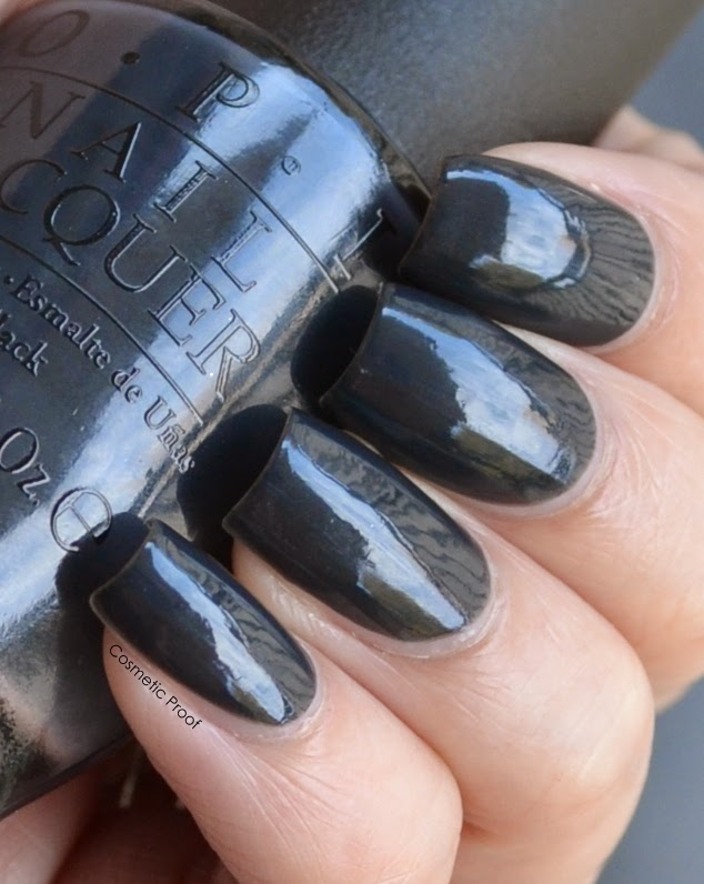 OPI 50 Shades of Grey Colletion Swatches Review Dark Side of the Mood