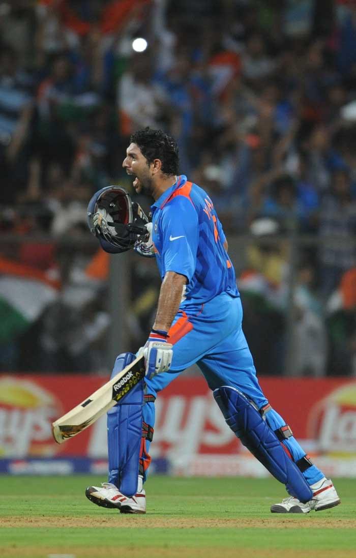 Yuvraj Singh Photos at World Cup - 53.1KB
