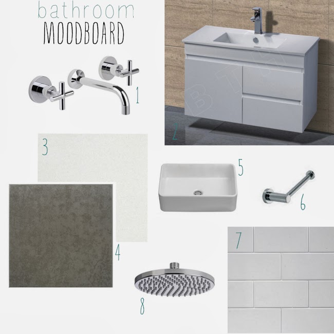 Mondella Resonance Chrome bath set   75  Bunnings I admit I totally had  these taps picked out before anything else in my bathroom. The Happy Home  The bathroom renovation part 1  moodboard  plans