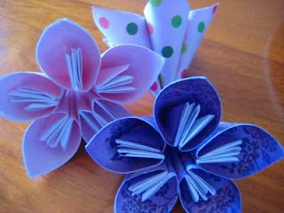 Simple Origami Flower Design