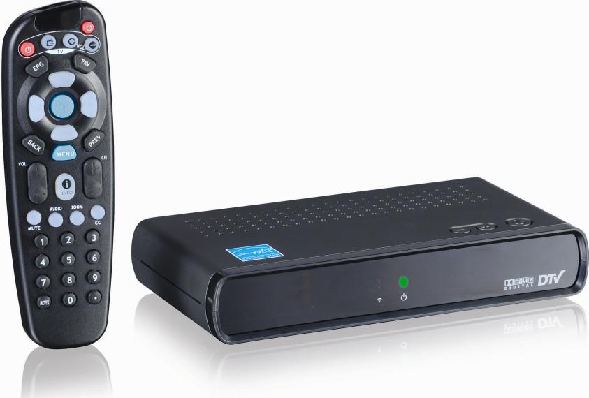 digital tv converter box: