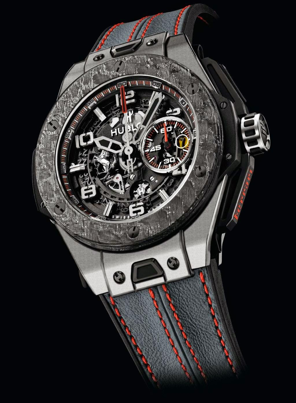 neue uhr hublot big bang ferrari carbon king gold