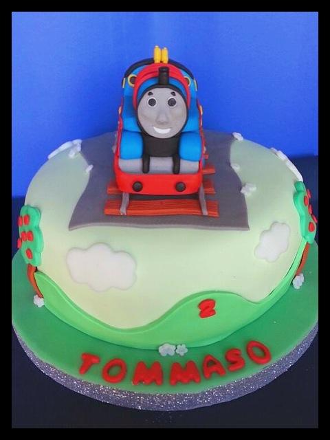Paola alix in cakes torta trenino thomas allo