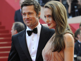 Angelina Jolie in 2013 with brad pitt photo