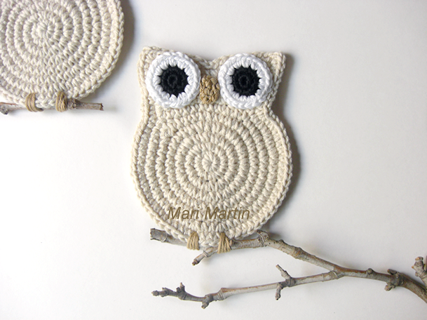 Crochet Owl Mari Martin