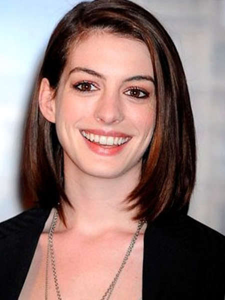 medium length straight hairstyles no bangs download