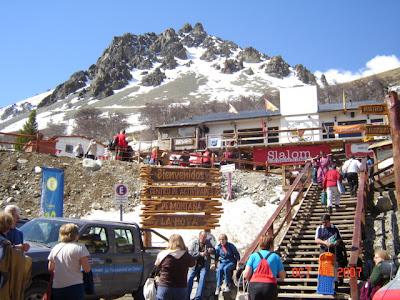 Estação de esqui La Hoya Argentina