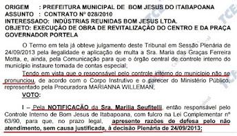 """Praça Gov. Portela emperra julgamento das contas de 2013 no TCE-RJ – Prefeita """"engoliu"""" prestação d"""