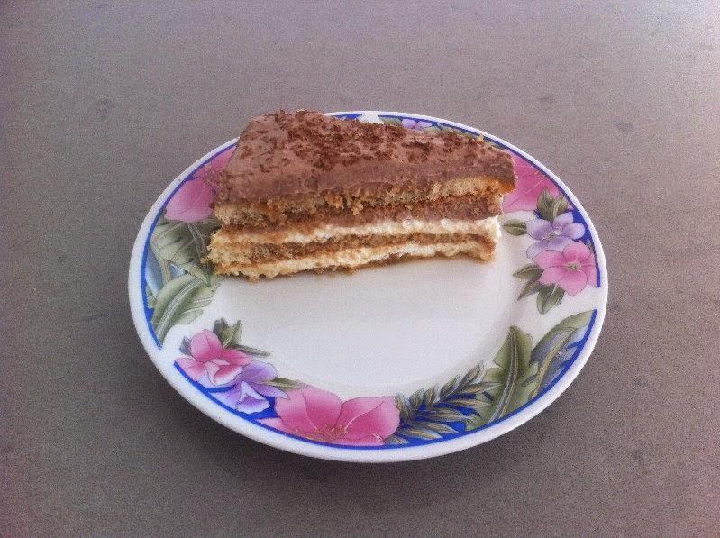 עוגת טורט חגיגית במילוי קרם גבינה