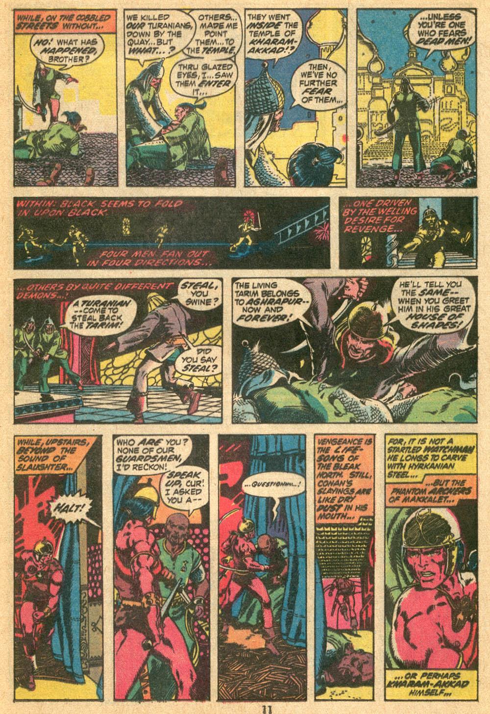 Conan the Barbarian (1970) Issue #20 #32 - English 9