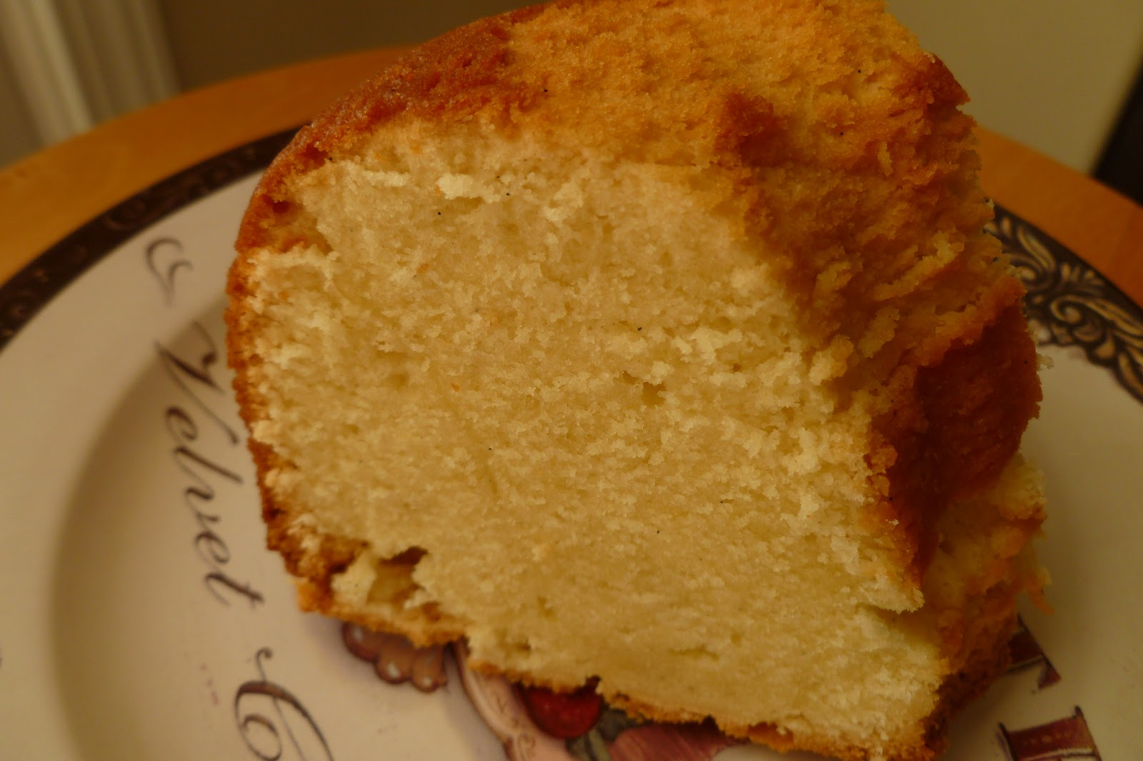 The Pastry Chef's Baking: Cream Cheese Pound Cake