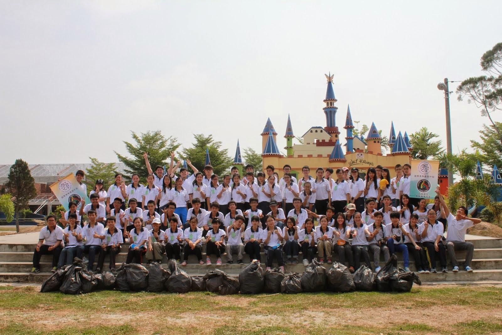 卓越青年参与爱大华社区服务 7月/2014
