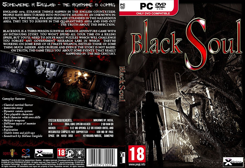 Capa Black Soul PC