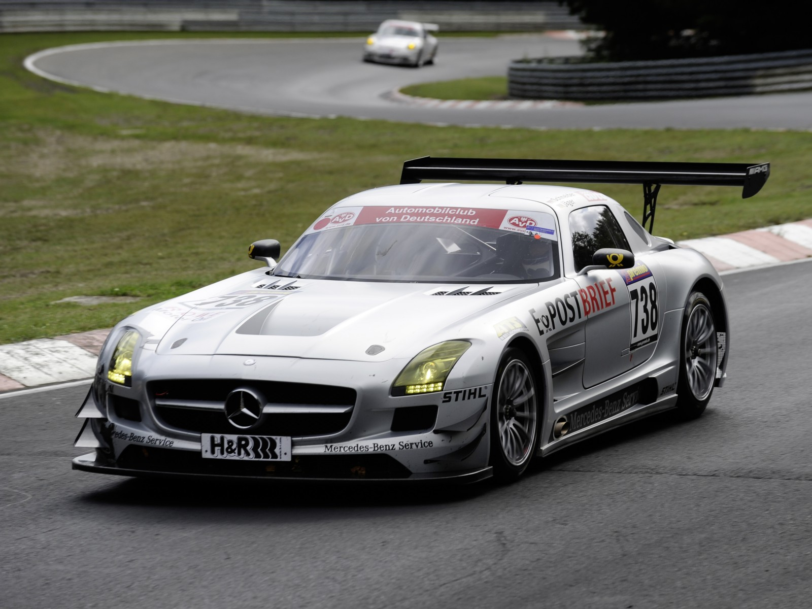 2011 mercedes benz sls amg gt3 wallpapers pictures