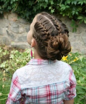 aqu las mejores imgenes de peinados para nias en su fiesta de promocin como fuente de inspiracin