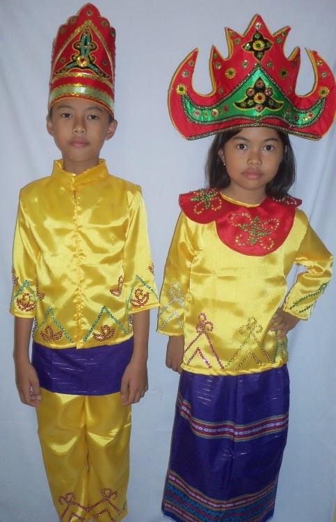 BA-009 Baju Adat Lampung | Pakaian Adat Anak