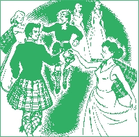 Clip art Scottish Dancing