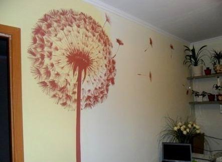 C mo hacer un dibujo decorativo en una pared cositasconmesh - Como decorar un dibujo de una castana ...