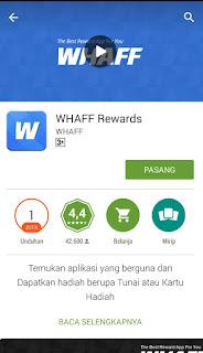 Inilah Rahasia Mendapatkan Pulsa Gratis Dengan Android Download Whaff Reward