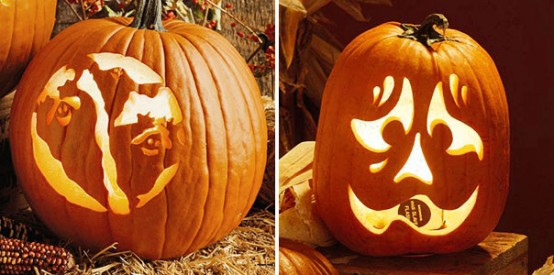 Pumpkin carving ideas let 39 s celebrate for Different pumpkin designs