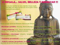 Regala... Salud, Belleza y Bien-estar!!!