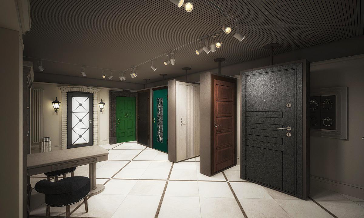 салоны продажи металлических дверей в москве