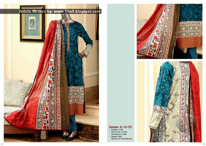Junaid's Summer Collection 2015 Lawn Vol-1