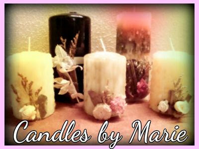 """CANDLES BY MARIE"""