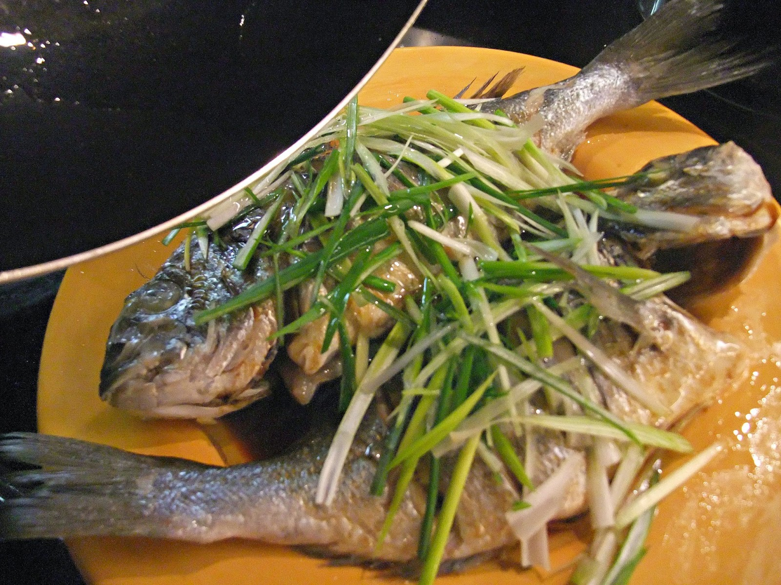 Susan 39 s savour it chinese new year steamed whole fish for Steamed whole fish
