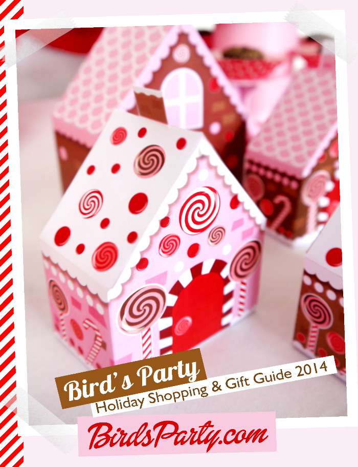 Bird's Party Magazine Holiday Shopping and Gift Guide 2014