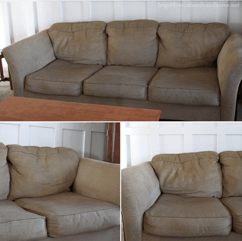 how to make your lumpy couch look like new diy craft