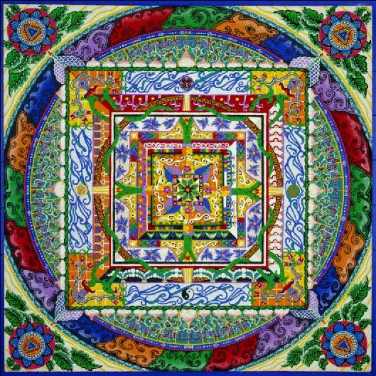 Buddhism, Mandalas & House Of Cards