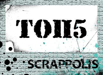 Мой блокнот в горошек в ТОПе Scrappolis