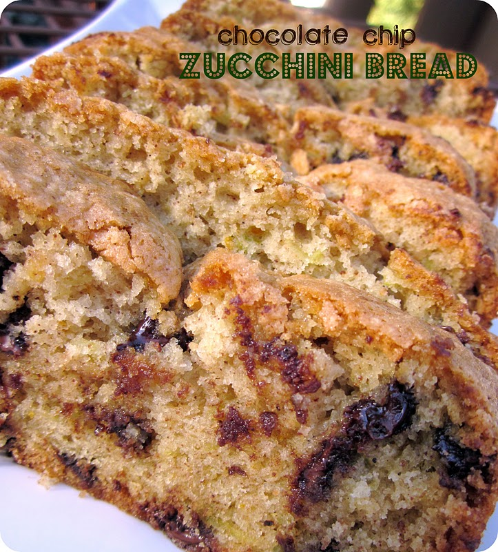 Moist Chocolate Chip Zucchini Bread / Six Sisters' Stuff | Six Sisters ...