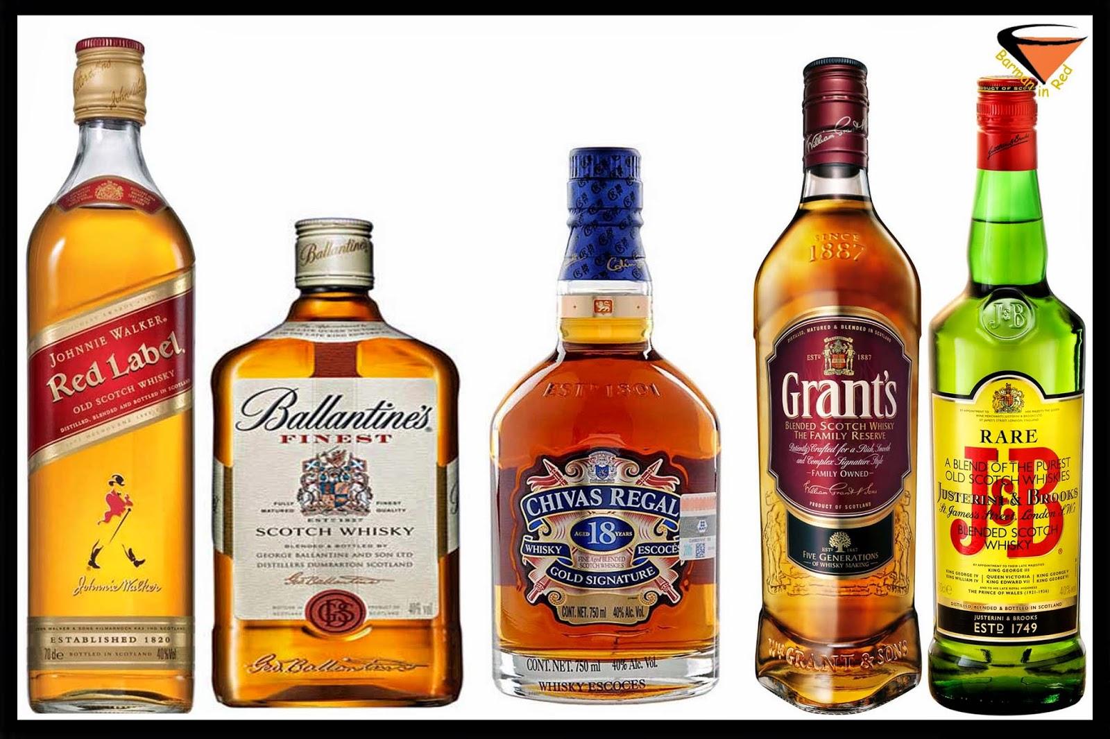 10 whiskys mas vendidos del mundo