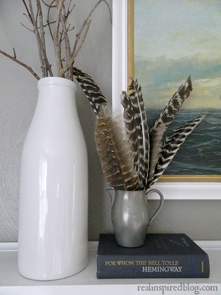 Feathers On My Mantel