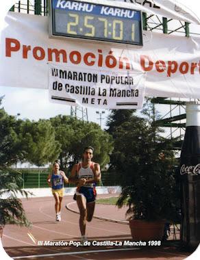 Maratón Popular de Castilla La Mancha 1.998