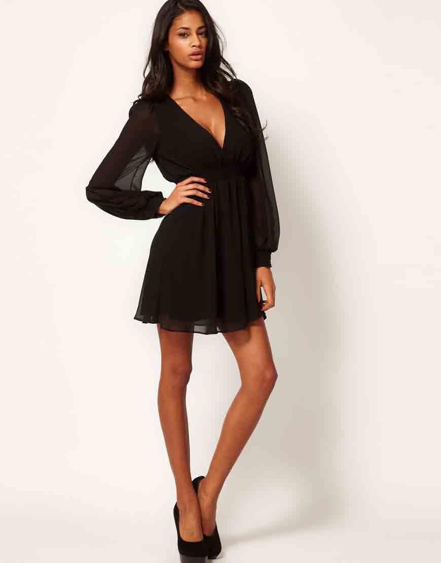 ASOS Long Sleeve Dress