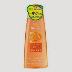Гидрофильное очищающее масло KANEBO NAIVE Deep Clear cleansing Liquid (Orange)
