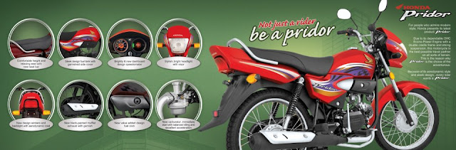 Honda Pridor Features