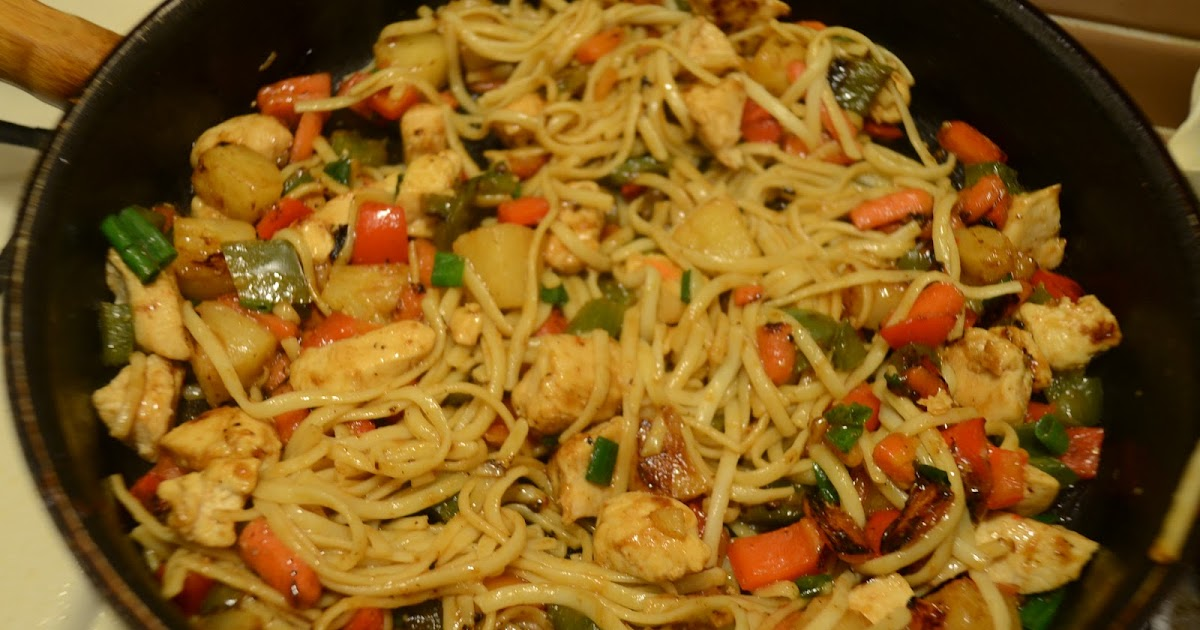 27 Years of Nothing but Failures: Pineapple Chicken Lo Mein