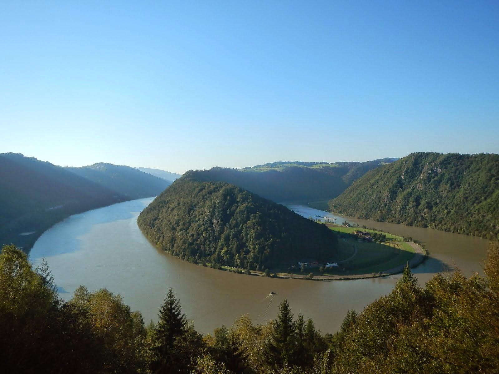 Schlogen, Donau