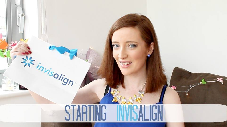 Bec Boop starts invisalign invisible braces treatment