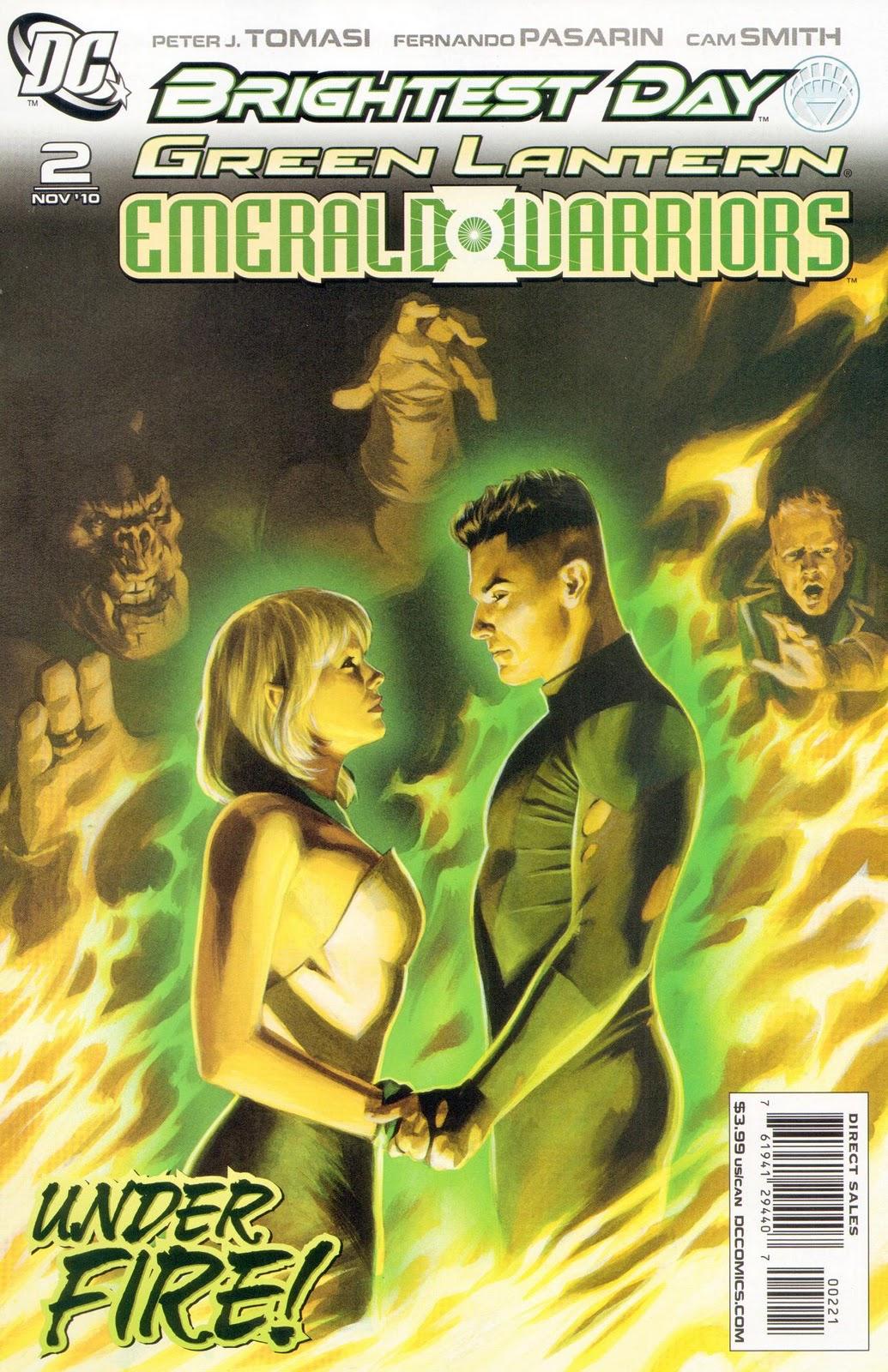 el iconocronos green lantern corps guerreros esmeralda