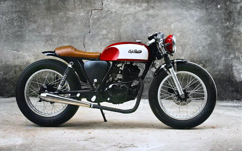 Cafe Racer Suzuki Thunder