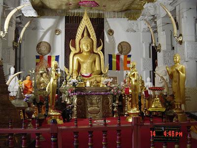 Buddha Statue Temple of Tooth Kandy Srilanka